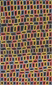 Sale 8339A - Lot 531 - Walala Tjapaltjarri (1960 - ) - Tingari 156 x 97cm