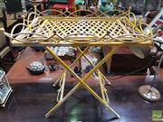 Sale 8455 - Lot 1045 - Metal Garden Table