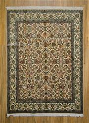 Sale 8559C - Lot 54 - Kashmiri Silk 213cm x 158cm