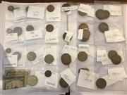 Sale 8694A - Lot 49 - An assortment of coins from Australia and NZ various mintage and a Fijian dollar.