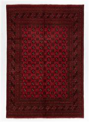 Sale 8760C - Lot 60 - A Persian Turkaman, Wool On Cotton Foundation Classed As Tribal Rugs, 200 x 300cm