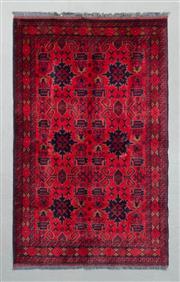 Sale 8499C - Lot 42 - Afghan Khal Mohamadi 200cm x 125cm