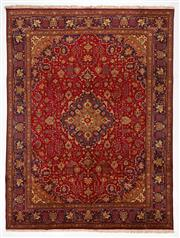 Sale 8740C - Lot 3 - A Persian Kashan From Isfahan Region 100% Wool Pile On Cotton Foundation, 400 x 300cm