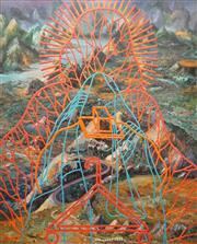 Sale 8901 - Lot 582 - Victor Majzner (1945 - ) - Involuntary Travel, 1994 183 x 153 cm