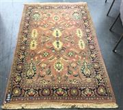 Sale 8893 - Lot 1018 - Pink and Cream Tone Carpet (190 x 120cm)