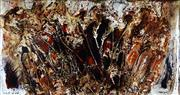 Sale 9019 - Lot 2055A - Renata Buziak - Verbena Aristigera 90 x 169.5 cm (frame: 117 x 196 x 5 cm)