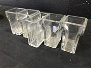 Sale 9039 - Lot 1060 - Collection of 5 Vintage Glass Acid Vats (h:10cm)