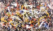 Sale 9072A - Lot 5056 - Jackson Pollock (1912 - 1956) - Untitled 54 x 82 cm (frame: 87 x 118 cm)
