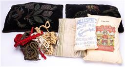 Sale 9190E - Lot 88 - A collection of sundry ropes and cushions