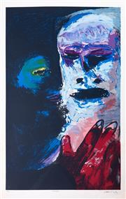 Sale 8644A - Lot 22 - Arthur Boyd - Macbeth image size 91 x 61cm, unframed