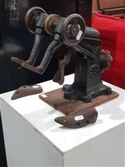 Sale 8723 - Lot 1021 - Cast Iron Shoe Stretcher