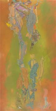 Sale 8787A - Lot 5060 - Jill Nathanson (1955 - ) - Amenhotep IV, 1984 202 x 98cm