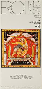 Sale 8828 - Lot 2090 - Erotic Art: International Museum of Erotic Art - 91.5 x 44.5cm