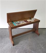 Sale 9063 - Lot 1042 - Lift Top Piano Stool With Contents (H64cm)