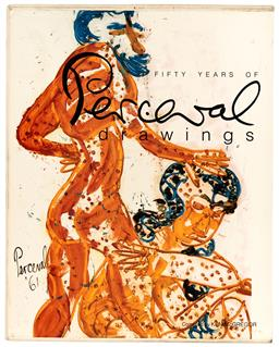 Sale 9252A - Lot 5031 - A limited edition signed hardcover copy of John Perceval: 50 Years of Drawing, ed 90/100 in orginal case.