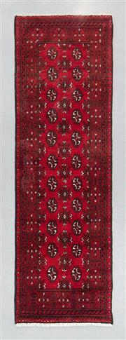 Sale 8499C - Lot 43 - Afghan Turkman Runner 380cm x 82cm