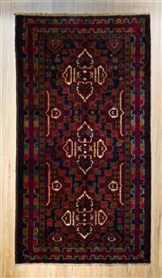 Sale 8559C - Lot 57 - Persian Baluchi 216cm x 116cm