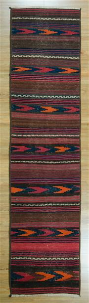 Sale 8657C - Lot 30 - Turkish Kilim Runner 332cm x 70cm