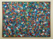 Sale 8677B - Lot 533 - Artist unknown, Colourstorm oil on canvas,  165cm x  220cm