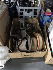 Sale 8819 - Lot 2306 - Box of Vintage Fishing Equipment