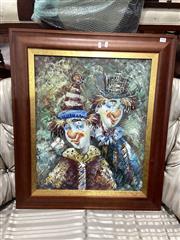 Sale 8896 - Lot 1094 - Clown Art Work
