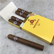 Sale 8970 - Lot 640 - Montecristo No. 4 Cuban Cigars - pack of 5 stamped June 2018