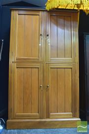 Sale 8390 - Lot 1110 - Pine Cabinet with Four Doors