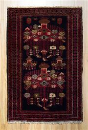 Sale 8559C - Lot 58 - Persian Baluchi 148cm x 85cm