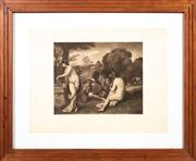 Sale 8644A - Lot 90 - Giorgione - Pastoral Concert frame size 58 x 72cm