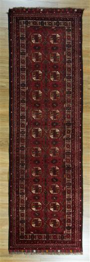 Sale 8657C - Lot 31 - Afghan Qunduzi 300cm x 80cm