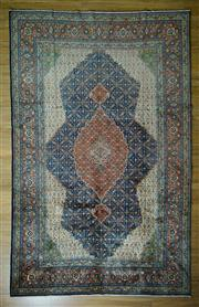 Sale 8665C - Lot 24 - Fine Persian Tabriz 340cm x 215cm