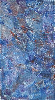 Sale 8764A - Lot 5073 - Polly Ngale (c1936 - ) - Bush Plum 199 x 110cm