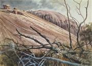 Sale 8813 - Lot 600 - Clifford Bayly (1927 - ) - Australian Landscape Scene, 1986 51.5 x 72cm