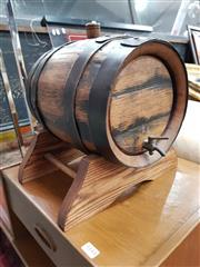 Sale 8822 - Lot 1143 - Port Barrell on a Stand