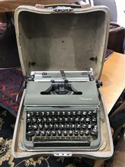 Sale 8822 - Lot 1551 - Cased Typewriter