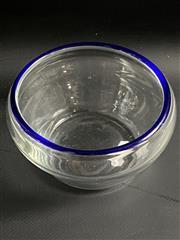 Sale 8980 - Lot 92 - After Per Lutken, Vintage Scandinavian Studio Glass Vase, Possibly Holmegaard (D:12cm)