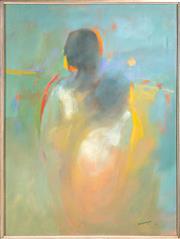 Sale 8644A - Lot 63 - Bernhard Rust - Figural Study 103 x 78cm