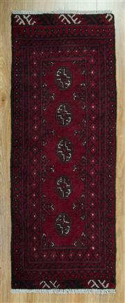 Sale 8657C - Lot 32 - Afghan Turkman 145cm x 64cm