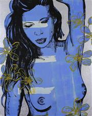 Sale 8787A - Lot 5062 - David Bromley (1960 - ) - Laura (Graffiti) 2012 150 x 120cm