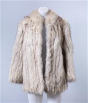 Sale 8828F - Lot 14 - A Norwegian Blue Fox Jacket By Hammerman Furs, Size Medium