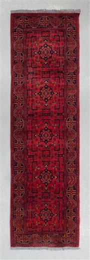 Sale 8499C - Lot 45 - Afghan Khal Mohamadi 278cm x 80cm