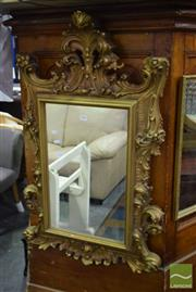 Sale 8523 - Lot 1062 - Ornate Gilt Framed Mirror