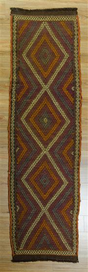 Sale 8617C - Lot 84 - Turkish Killem Runner 252x70