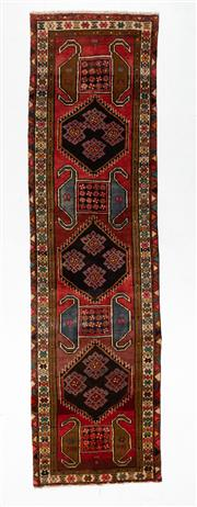 Sale 8760C - Lot 91 - A Persian Ardabil From Azerbaijan Region 100% Wool Pile On Cotton Foundation, 400 x 110cm