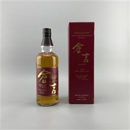 Sale 9165 - Lot 634A - Matsui-Shuzo Whisky The Kurayoshi Distillery 12YO Pure Malt Japanese Whisky - 43% ABV, 700ml in box