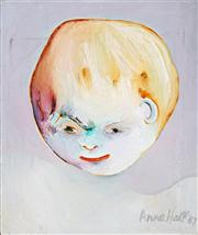 Sale 8410A - Lot 5068 - Anne Hall (1945 - ) - Untitled , 1967 (Face) 61 x 50.1cm