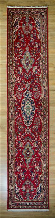 Sale 8665C - Lot 26 - Persian Mashad 425cm x 87cm