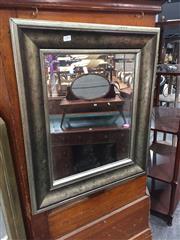 Sale 8676 - Lot 1376 - Silver Framed Mirror