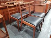 Sale 8839 - Lot 1032 - Set of Four G-Plan Teak Dining Chairs