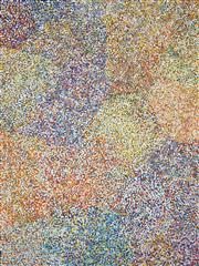 Sale 8743 - Lot 548 - Bessie Pitjara (c1960 - ) - Bush Plum 200 x 150cm